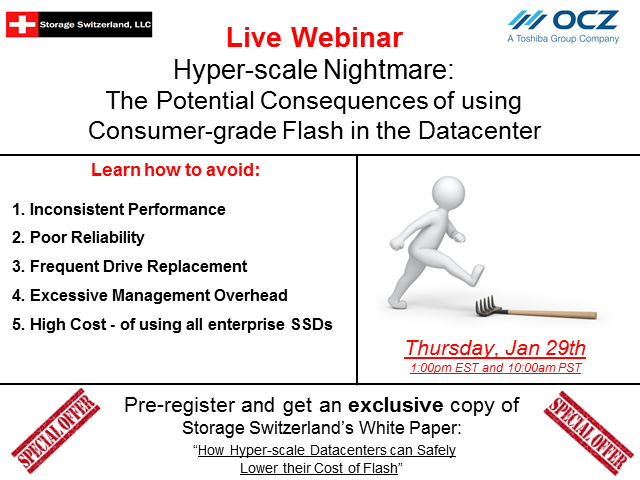 Hyperscale Nightmare-Potential Consequences of using Consumer SSDs in Datacenter