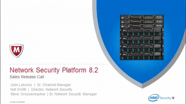 Network Security Platform 8.2