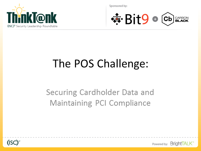 The POS Challenge: Securing Cardholder Data and Maintaining PCI Compliance