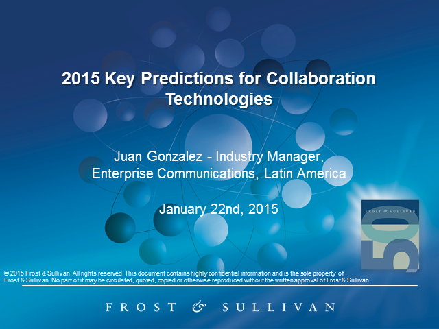 2015 Key Predictions for Collaboration Technologies in Latin America