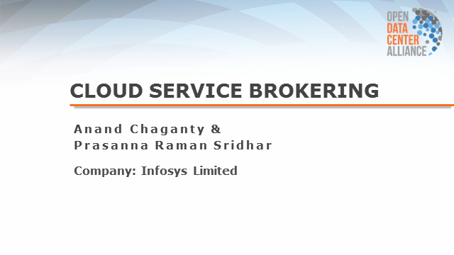 Cloud Service Brokering