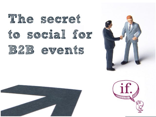The secret to social for B2B events