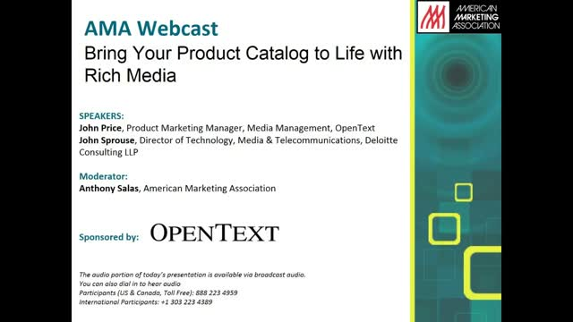 Bring Your Product Catalog to Life with Rich Media