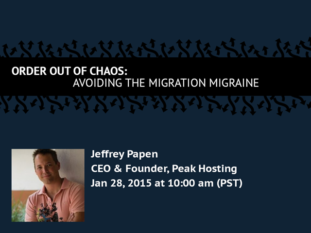 Order out of Chaos: Avoiding the Migration Migraine