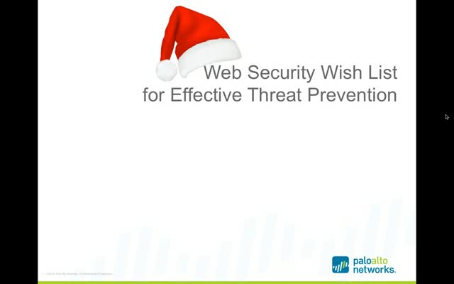 Web Security Wish List for Effective Network Protection