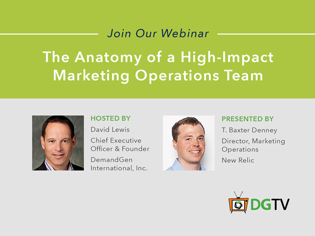 The Anatomy of a High-Impact Marketing Operations Team