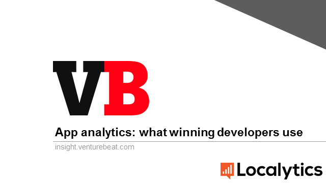 Mobile App Analytics: What winning mobile developers use