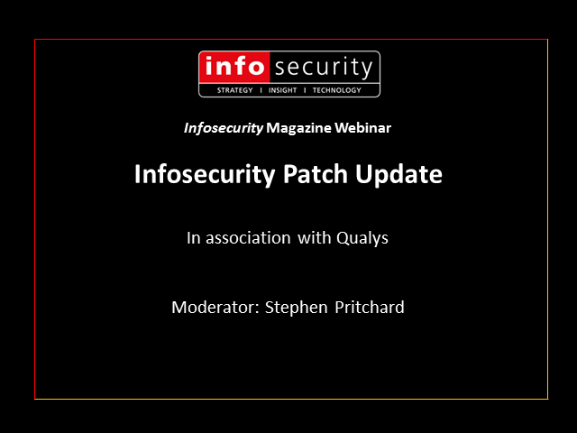 March Patch Update - Sponsored by Qualys