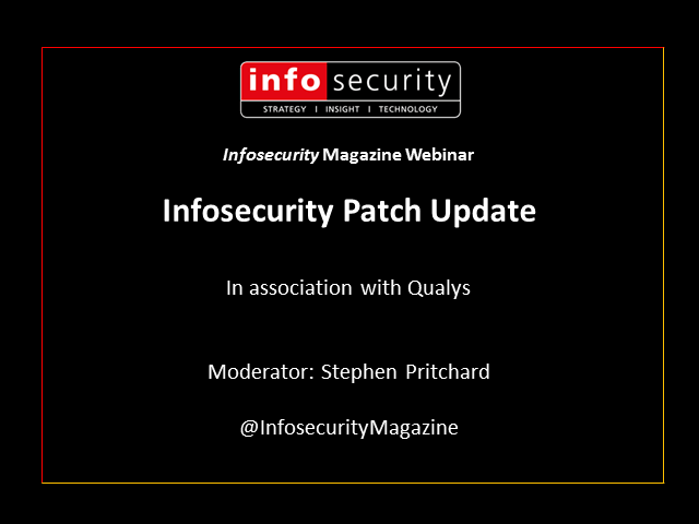 April Patch Update - Sponsored by Qualys
