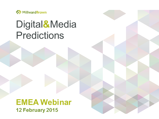 Digital and Media Predictions 2015 - Europe, Middle-East & Africa