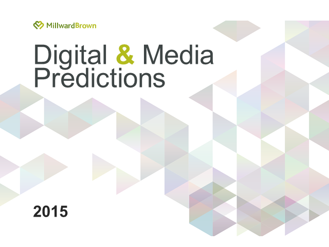 Digital and Media Predictions 2015 - North America and Canada