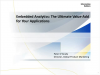 Redefining Self-Service Analytics Series - 10 Reasons to Embed BI & Analytics