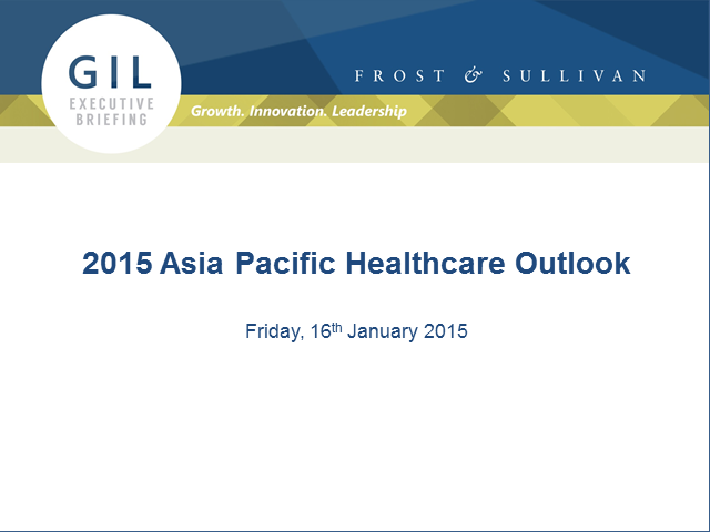 2015 Asia Pacific Healthcare Outlook