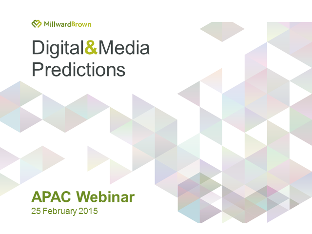 Digital and Media Predictions 2015 - Asia-Pacific