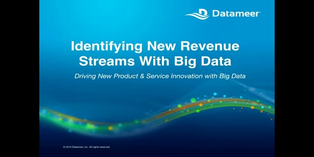 Identifying New Revenue Streams with Big Data: Driving New Product Innovation