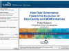 How Data Governance Fosters the Evolution of Data Quality and MDM