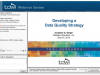Establishing a Data Quality Strategy