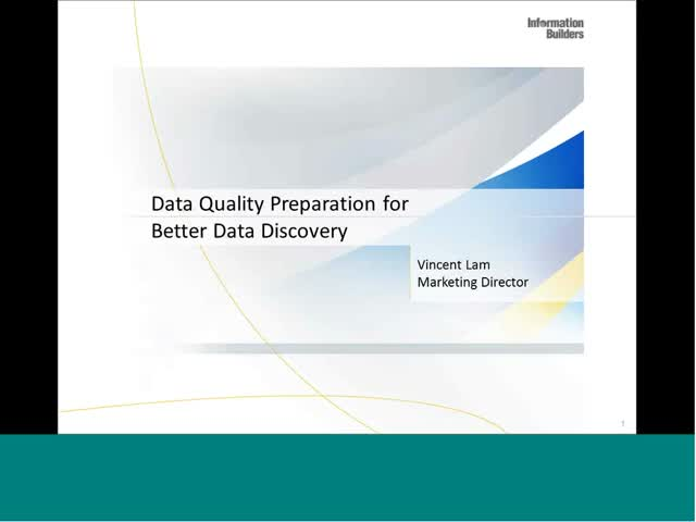 From Good to Game-Changing - Data Quality Preparation for Better Data Discovery