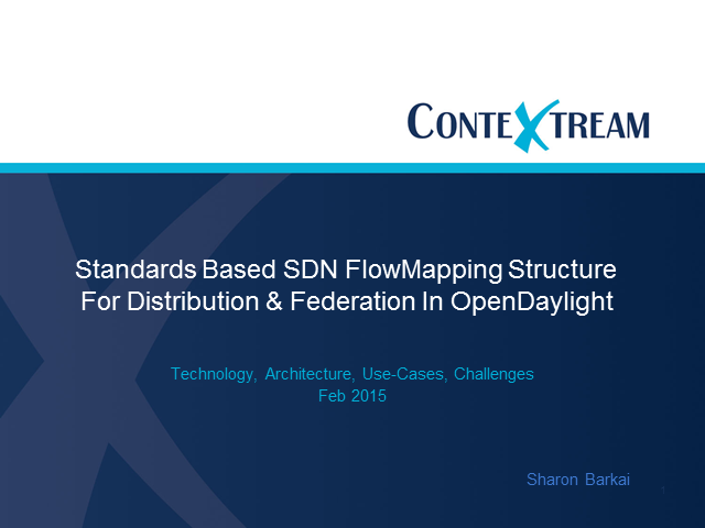Scalable SDN Structure for Managed Network Applications