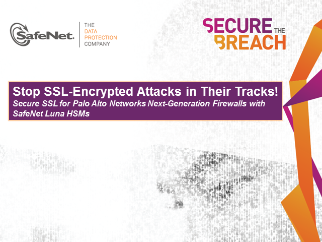 Stop SSL-Encrypted Attacks in Their Tracks!