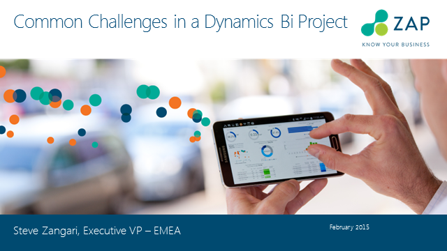 Common Challenges in a BI Project