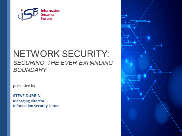 Network Security: Securing the ever expanding boundary