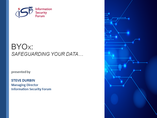 BYOx: developing and deploying effective strategies to safeguard data