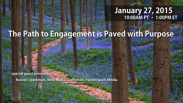 The Path to Engagement is Paved with Purpose