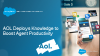 How AOL Deployed Knowledge to Boost Agent Productivity