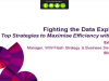 Fighting the Data Explosion: Top Strategies to Maximise Efficiency with Flash