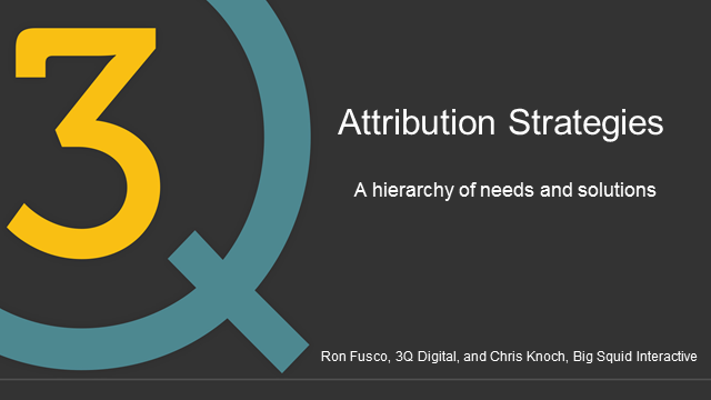 Attribution Strategies: A Hierarchy of Needs and Solutions