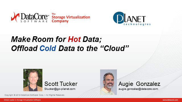 Make Room for Hot Data; Offload Cold Data to the  Cloud