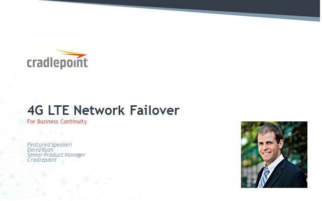 4G LTE Network Failover for Business Continuity