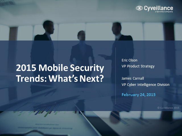 2015 Mobile Security Trends: What's Next?