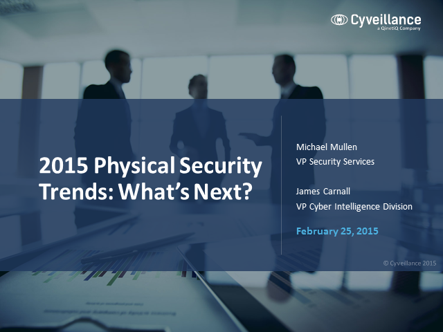 2015 Physical Security Trends: What's Next?