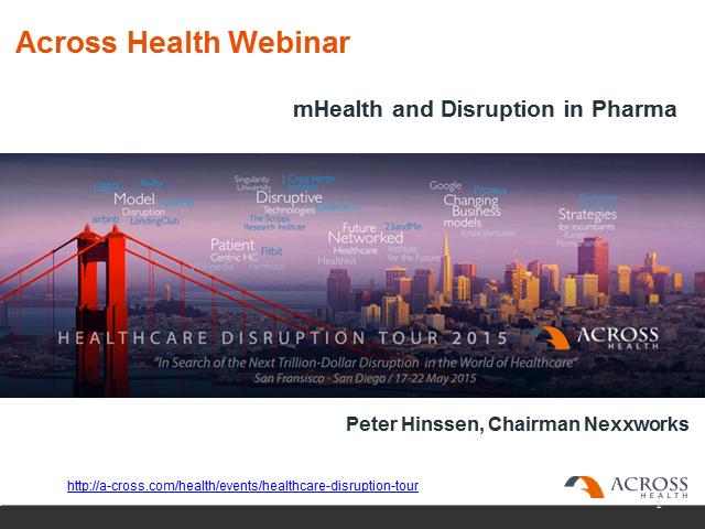 mHealth and Disruption in Pharma