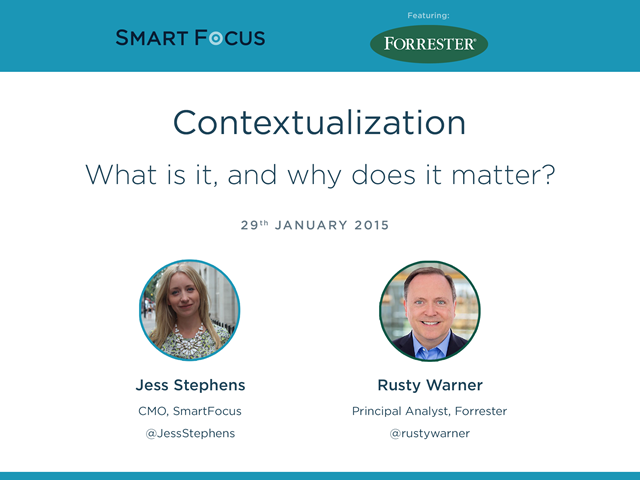 Contextualization: What it is and why it matters for marketers in 2015