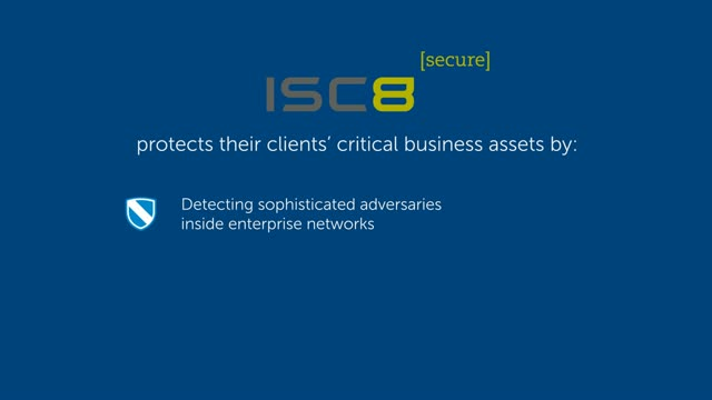 Internet security firm ISC8 slashes their backup footprint to a 31:1 ratio
