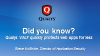 Did you know? Qualys WAF quickly protects web apps for less.