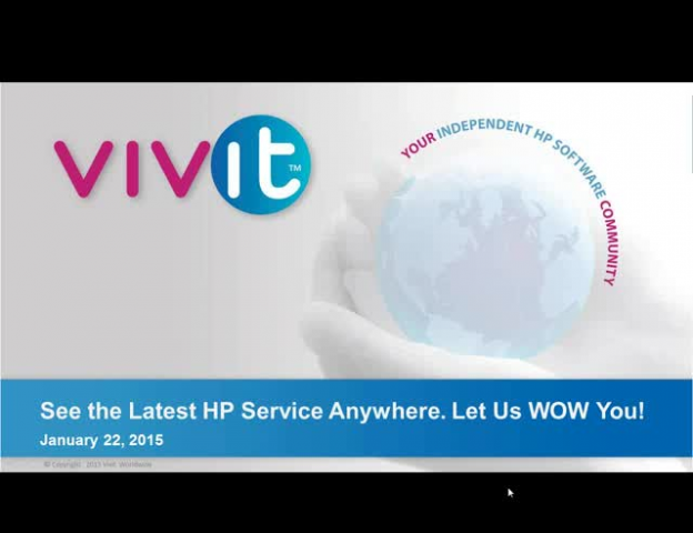 See the Latest HP Service Anywhere. Let Us WOW You!