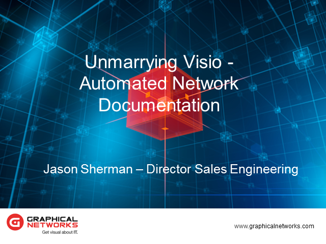 Unmarrying Visio: Automated Network Documentation