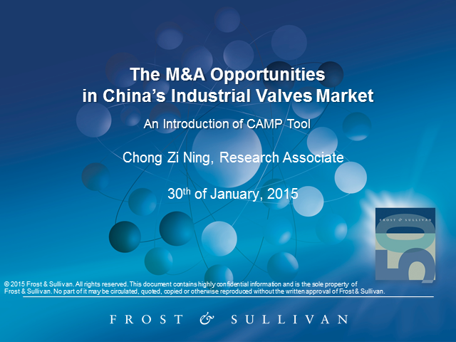 The M&A Opportunities in China's Industrial Valves Market