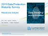 2015 Data Protection Maturity Trends