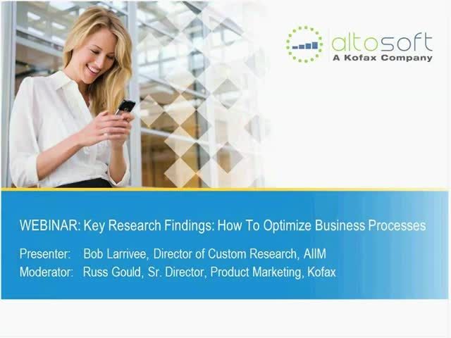 Key Research Findings: How to Optimize Business Processes