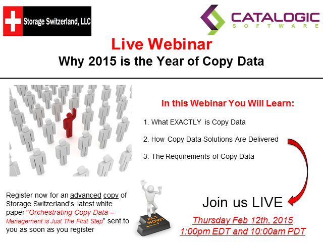Why 2015 is the Year of Copy Data - What are the requirements?
