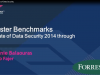 Forrester Benchmarks | The State of Data Security - 2014 Through 2015