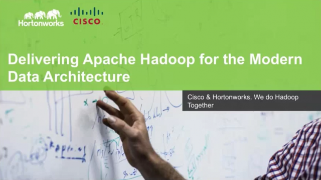 Delivering Apache Hadoop for the Modern Data Architecture