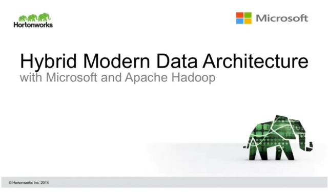 Building a Hybrid Modern Data Architecture using Apache Hadoop and Microsoft