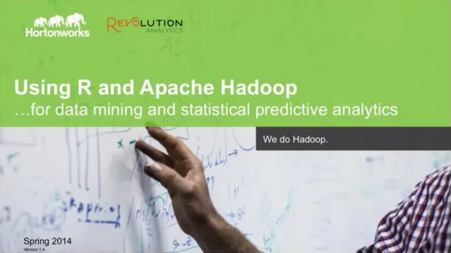 The Modern Data Architecture for Predictive Analytics with Revolution Analytics