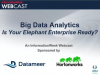 Big Data Analytics - Is Your Elephant Enterprise Ready?